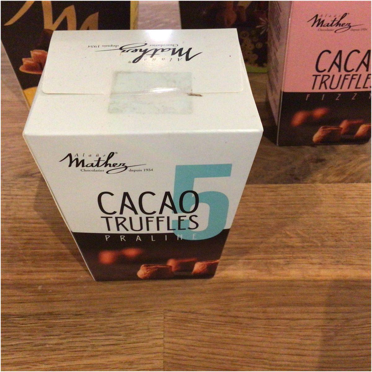 Mathez truffles praline