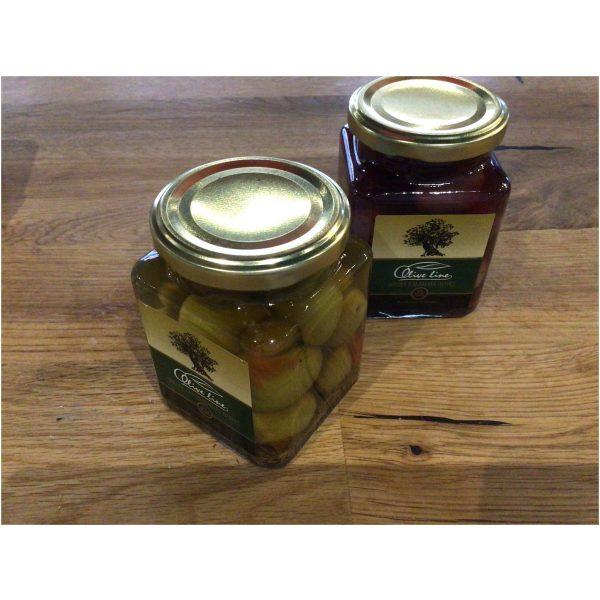 Olive line gröna oliver