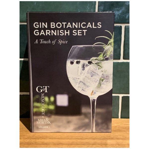 Gin Botanicals white