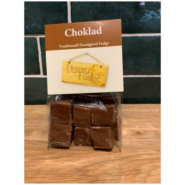Fudge m choklad